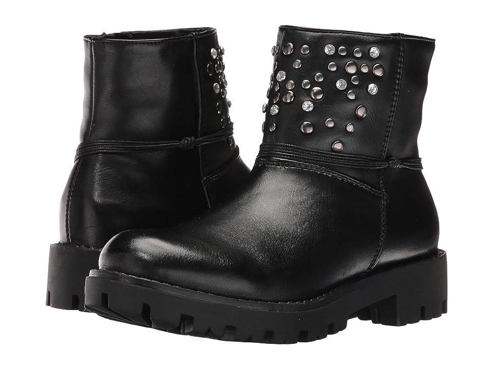 Pazitos Galaxy Bootie PU (Little Kid/Big Kid) (Black) Girls Shoes