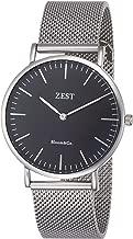 [ゼスト] 腕時計 JD-2708-001-BK-SV-M 正規輸入品 ブラック