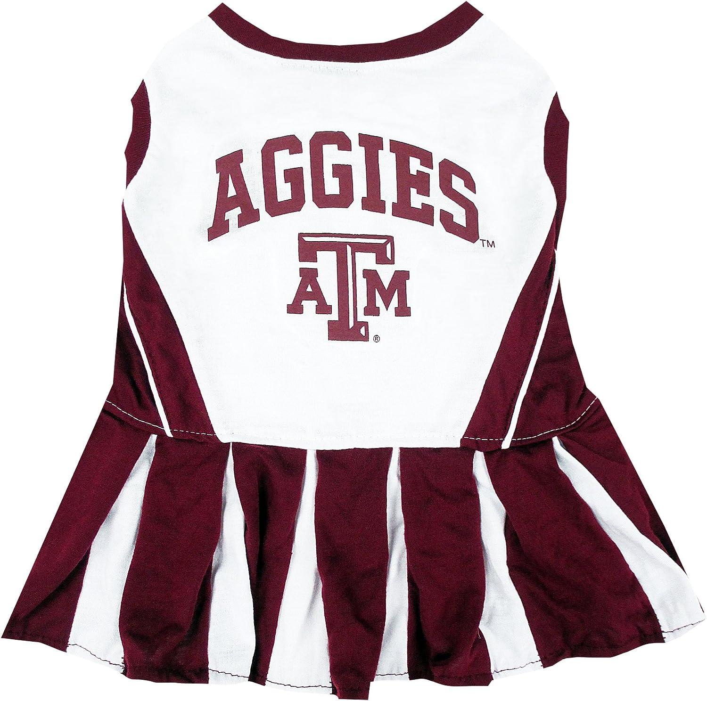 NCAA TEXAS A & M AGGIES DOG Cheerleader Outfit, Small