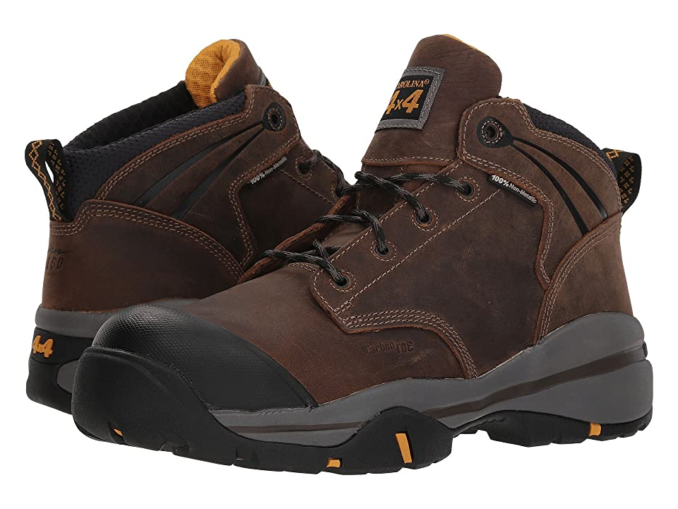 Carolina 4.5 100% Non-Metallic ESD Carbon Composite Toe Hiker CA5526 (Crazy Horse) Men