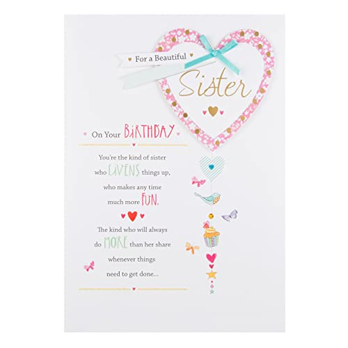 Hallmark Sister Birthday Card Lucky