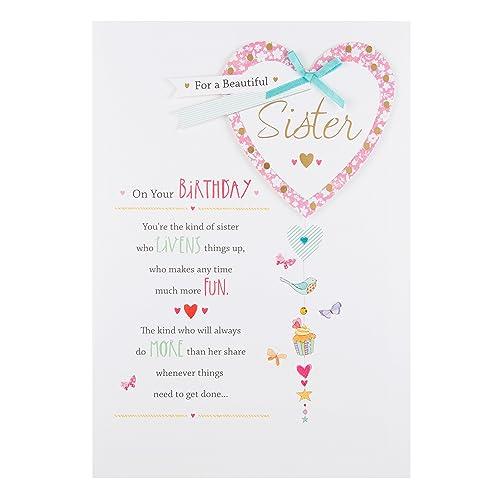 Hallmark Sister Birthday Card Lucky