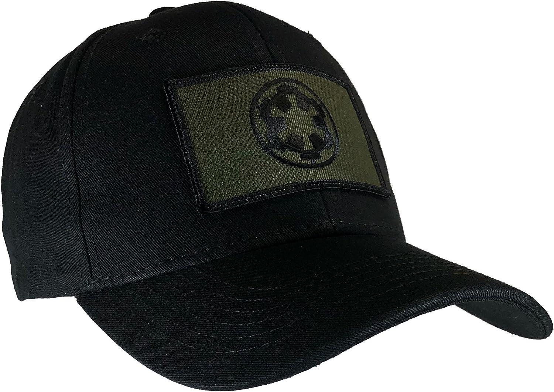 Star Wars Imperial Hat Black Ball Cap OD Green Emblem
