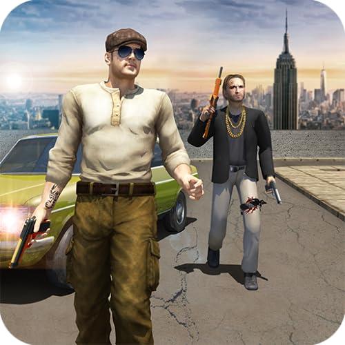 Bandenkrieg Mafia-Verbrechen Stadt Simulator Spiel 3D- San Andreas Autodiebstahl Gangsterspiele  Kostenlos