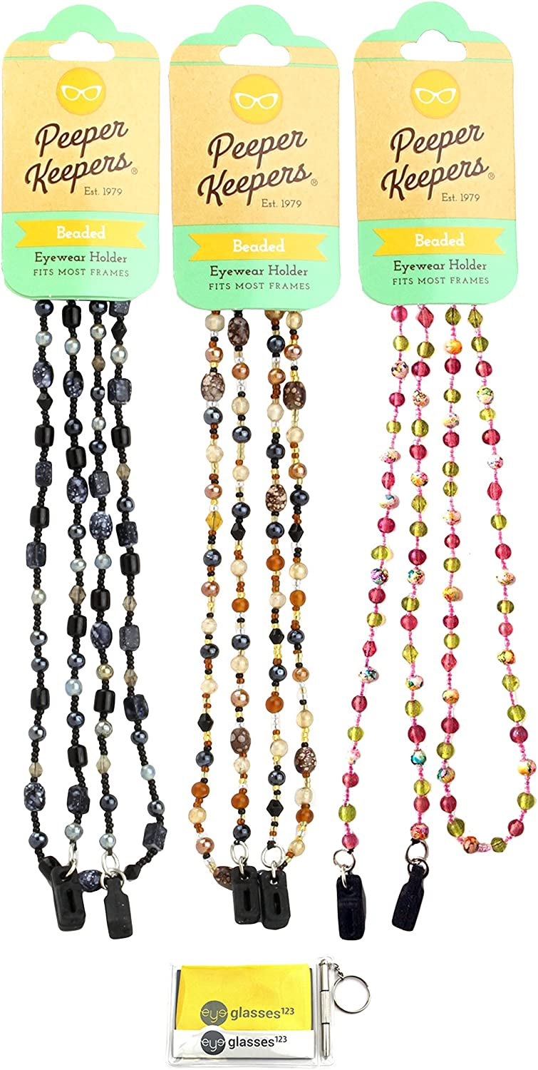 Max 57% OFF Eyeglass Retainer Sunglass Chain By Ranking TOP7 Glass Keepers Beads Peeper