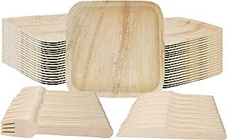 Best disposable wood plates bulk Reviews