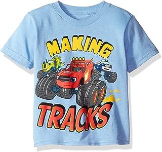 Freeze Children's Apparel Nickelodeon Little Boys' Toddler Blaze Making Tracks Short Sleeve T-Shirt