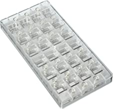Fat Daddio's Magnetic Chocolate and Candy Mold Indented Corner, 15 Pieces