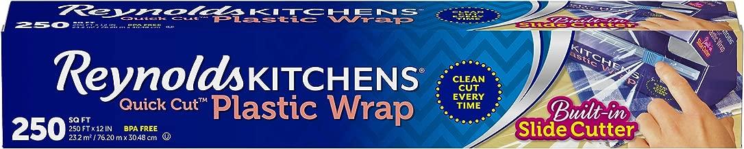 Reynolds Kitchens Quick Cut Plastic Wrap - 250 Sq Ft roll
