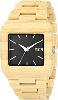 Vestal Unisex MWD3W01 Muir Wood Green Sandalwood Watch