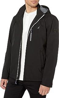 Nautica Men's Poly Stretch Zip Jacket with Hood