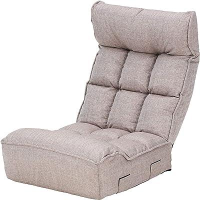 武田コーポレーション 座椅子 ベージュ 60*68*80㎝ AT8-HS68BE