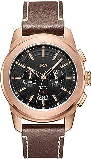 JBW Luxury Men's Mohawk 12 Diamonds Multi-Function Watch - J6352E