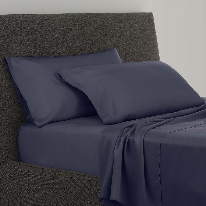 FlatIron Tencel Lyocell Sheet Set, Full, Nightshadow bluee