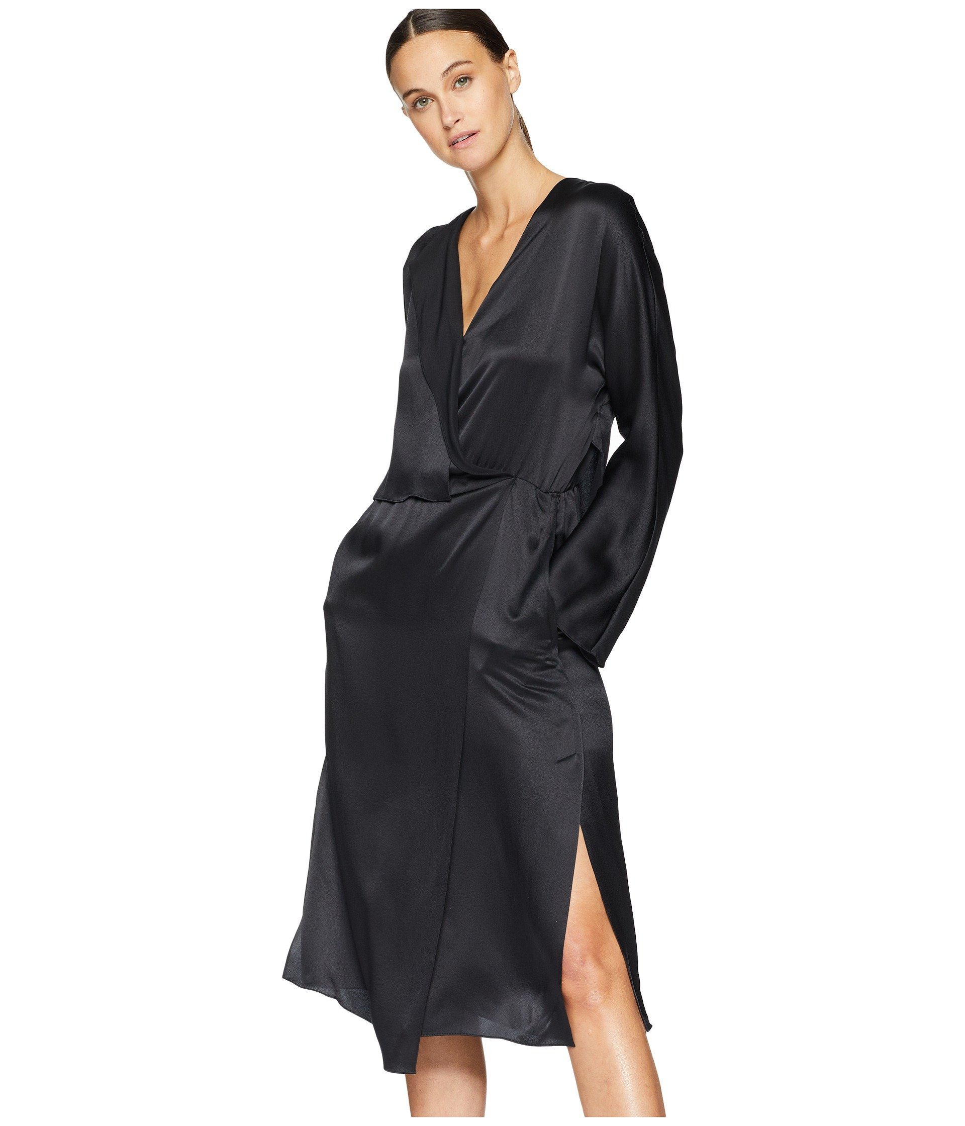 Vince Vince Drape Dress Drape Black Panel O8qYR