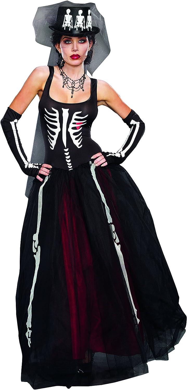 Dreamgirl 9903 Ms Bones Costume (Large)