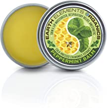 Peppermint & Chamomile Balm - Nausea & Respiratory Relief. Sinus, Motion, Morning Sickness. Lips, Under/Around Nose, Chest. 1oz. Made in The USA