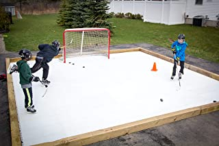 Skate Anytime - Synthetic Ice Rink for Hockey - Skateable Artificial Ice Tiles - Expandable - Become a Sniper - European T...