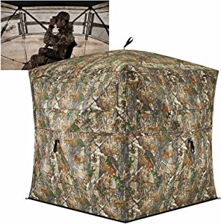 TIDEWE Hunting Blind See Through with Carrying Bag, 2-3...