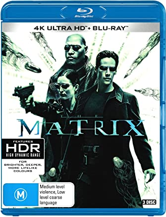 The Matrix    (4K Ultra HD)