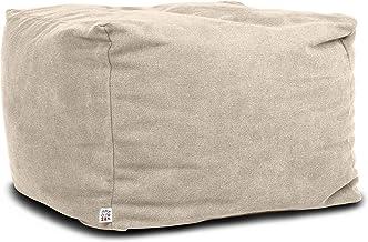 Zihui Cuscino Tondo in Lino Cuscino Sedile Tatami Sedile Cuscino Meditazione Lavabile Sedile Pavimento Futon Pesante Pouf Pouf Tavolino Vetrata Balcone Cuscino Tessuto