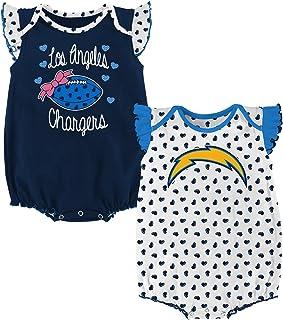 Outerstuff NFL Girls Newborn Heart Fan 2Piece Creeper Set