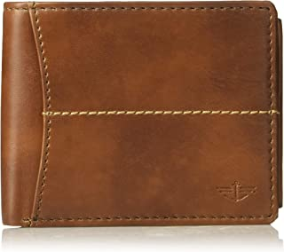 Dockers  Mens Wallet, Card Case & Money Organizer, Cognac, 12 31DK130027