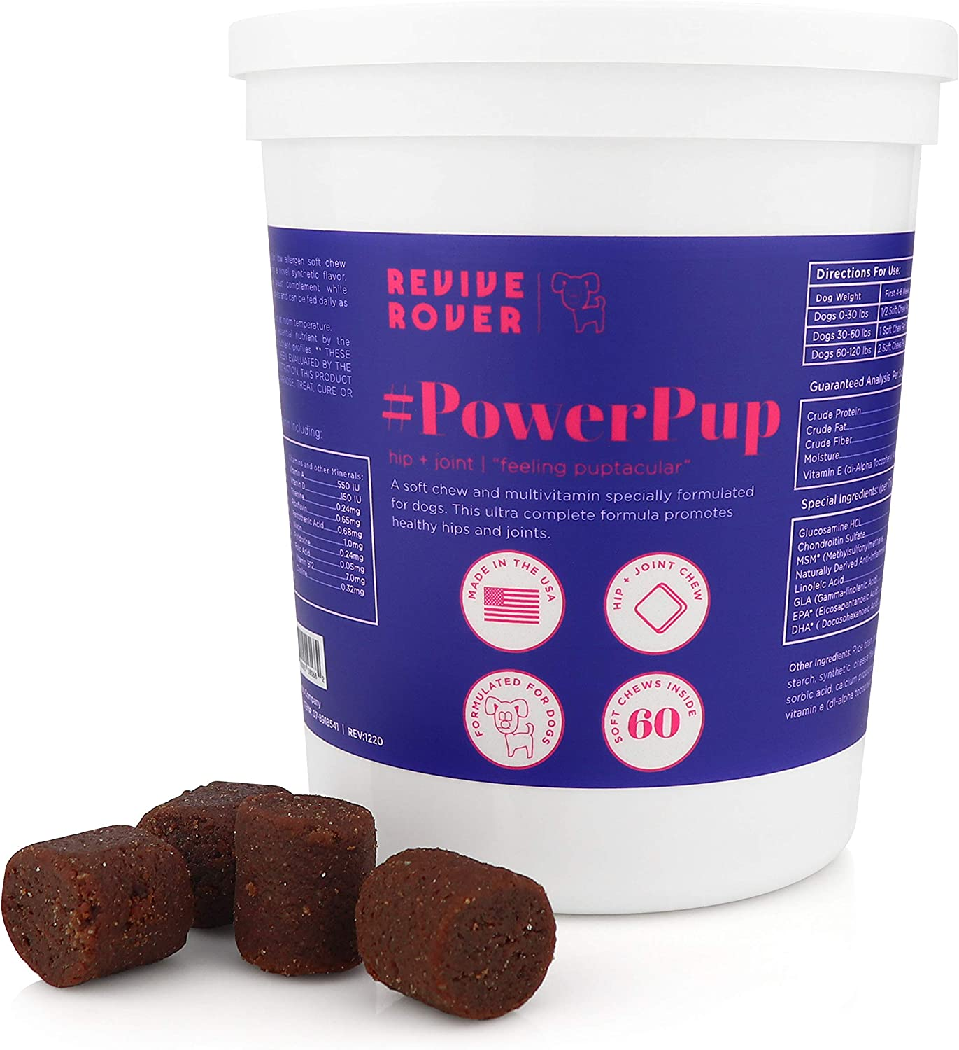 Bark Bistro Arlington Mall Company REVIVE ROVER Joint Do Limited Special Price Hip #PowerPup for