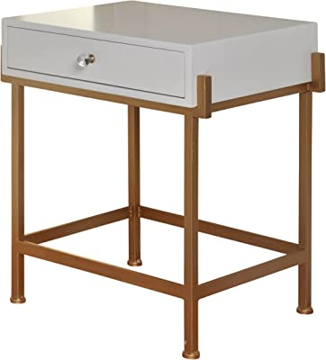 Amazon.com: Acme Furniture Acme 82298 Coleen Side Table ...