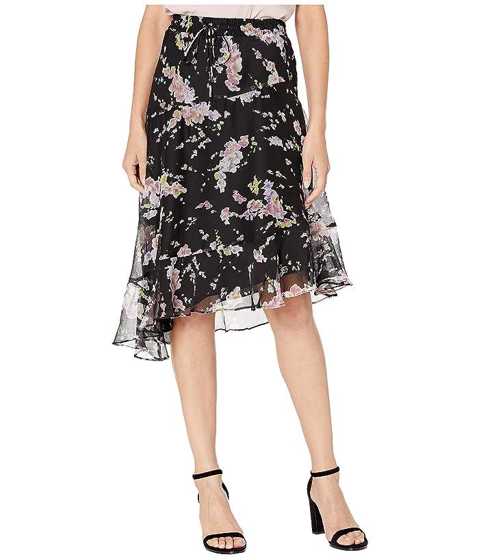affff5a887 LAUREN Ralph Lauren Petite Asymmetrical Floral-Print Skirt at Zappos.com