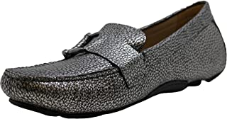 Naturalizer Womens Nara Leather Square Toe Loafers US