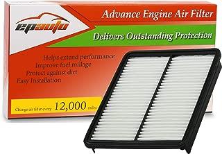 EPAuto GP881 (28113-2P100) Replacement for Hyundai/KIA Extra Guard Panel Engine Air Filter for Azera (2013-2016), Sonata (2011-2014), Santa Fe (2010-2012), Optima (2013-2015), Sorento (2011-2013)
