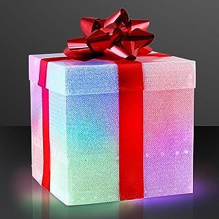 dbf9f1a40 FlashingBlinkyLights Color Changing LED Gift Box