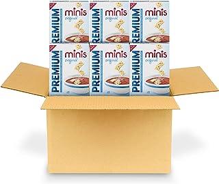 Premium Original Mini Saltine Crackers, 6 - 11 oz Boxes