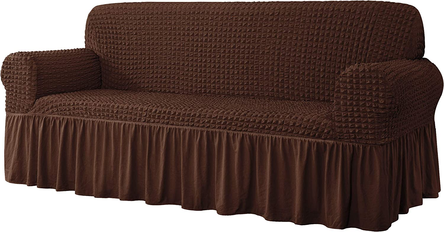 CHUN YI Discount is also underway Universal Sofa Slipcover Mesa Mall with Piece Skirt Fitted 1 Couch