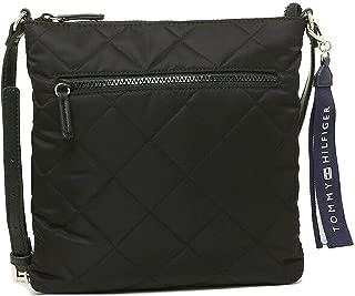 Tommy Hilfiger W86946486990 Women's Black Nylon Cross Body Handbag