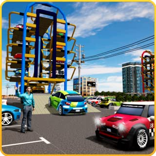 Smart Parking Plaza 3D Simulator