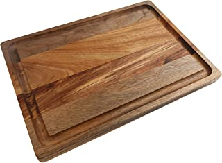 Boumbi Fragrant Camphor Laurel Reversible Cutting Board with Juice Groove(17.3x12x 1 JG_W)