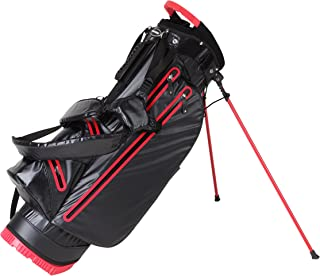 PreciseGolf Co. Ultra LITE Waterproof Golf Stand Bag Dry Pockets Lift Handle ONLY 4.4 LBS! 4 Colors Available
