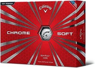 Callaway Chrome Soft Golf Balls, Prior Generation, (One Dozen)