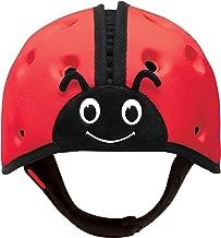 SafeheadBABY Soft Helmet for Babies Learning to Walk - Ladybird Red