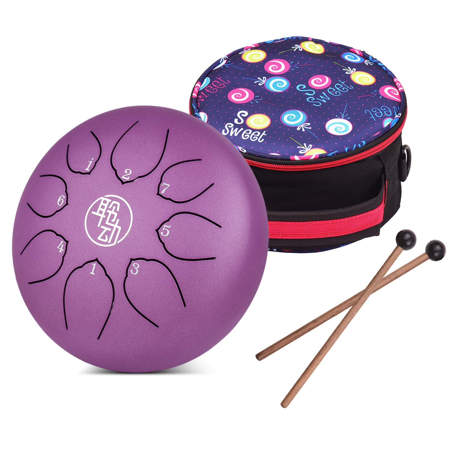 Drum Sets & Set Components Drums & Percussion 6-8 Inches Steel ...