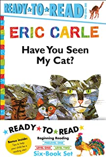 Eric Carle Ready-To-Read Value Pack: Have You Seen My Cat?; Walter the Baker; The Greedy Python; Rooster Is Off to See the...