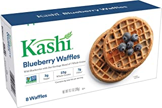 Kashi, Waffles, Blueberry, Vegan, Non-GMO Project Verified, 10.1 oz (8 Count)