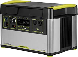 Yeti 1500X Portable Power Station, 1516Wh Portable Lithium Battery Emergency Power Station, 2000W Portable AC Inverter Gen...