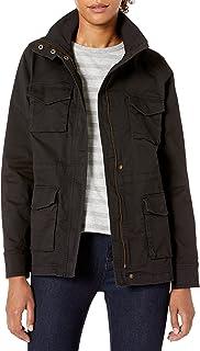 Amazon Essentials Women's Zip Up Utility Jacket