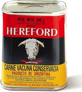 Hereford Carne Vacuna 4 x 340 gr