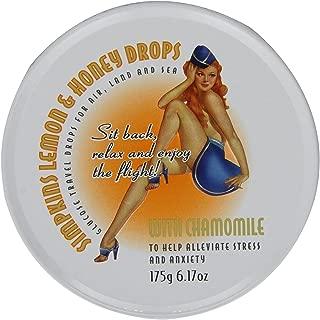 Simpkins Chamomile Lemon Honey Glucose Travel Sweets Drops 175g (6.17oz) (2 Pack)