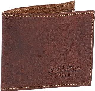 """Portafogli""""Fodor"""" di Gusti Leder studio portamonete da uomo monete carte di credito biglietti vintage marrone 2A154-20-2"""