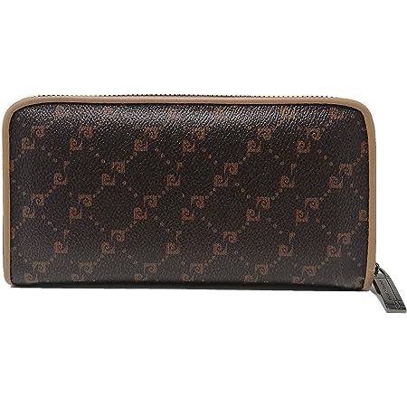 PIERRE CARDIN Cartera de mujer, hermosa, grande, espacioso, cuero, rfi, regalo, cartera con monedero, billetera para niña, marrón,